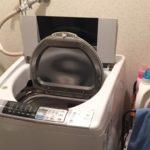 神戸市 東須磨駅で洗濯機を回収しました。